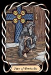 SW Five of Pentacles
